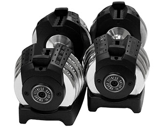 49% off XMark Fitness 50 lb. Adjustable Dumbbell