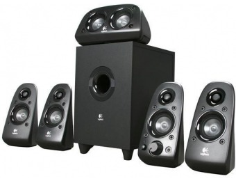 $47 off Logitech Z506 5.1 Surround Sound Speakers