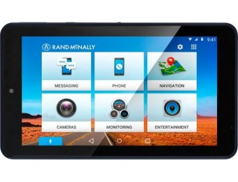 $100 off Rand McNally OverDryve 7C Connected Car Tablet with GPS