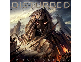 79% off Disturbed: Immortalized (Audio CD)