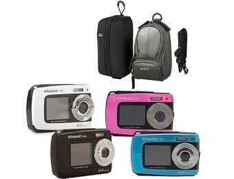 Extra 10% off Polaroid iF045 Digital Camera with Case Value Bundle