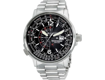 $240 off Citizen Men's Nighthawk Flight Watch #BJ7000-52E