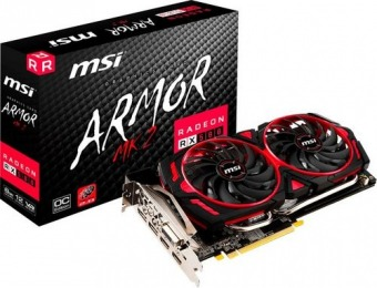 $478 off MSI AMD Radeon RX 580 8GB GDDR5 PCI Express 3.0 Card