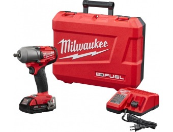 "$140 off Milwaukee M18 Fuel 18V Li-Ion Brushless 1/2"" Impact Wrench"