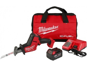 $90 off Milwaukee M18 Fuel Brushless Hackzall Saw Kit