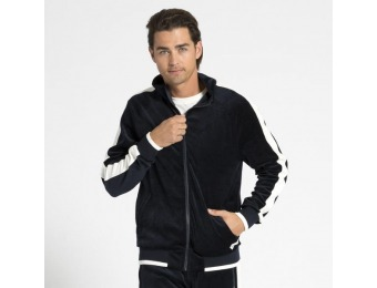 83% off Adam Levine Men's Velour Track Jacket