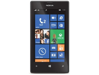 $20 off AT&T GoPhone Nokia Lumia 520 No-Contract Phone Bundle