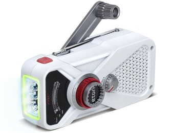 $13 off American Red Cross Hand Turbine Radio and LED Flashlight