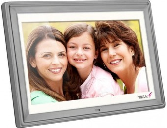 "$40 off Aluratek 10"" LCD Digital Photo Frame"