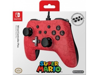 27% off Nintendo Switch Wired Controller Plus – Super Mario