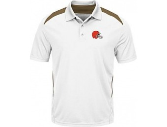 86% off NFL Men's Polo Shirt - Cleveland Browns