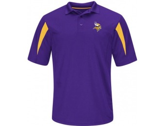 86% off NFL Men's Polo Shirt - Minnesota Vikings