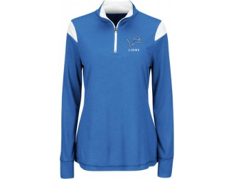 86% off NFL Women's Quarter-Zip Top - Detroit Lions