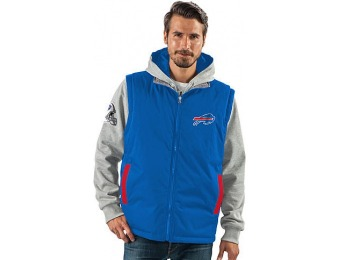88% off NFL Men's 8-in1 System Jacket - Buffalo Bills