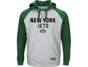 89% off NFL Men's Graphic Pullover Hoodie - New York Jets