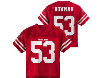 83% off NFL Boys' Player Jersey - San Francisco 49ers NaVorro Bowman