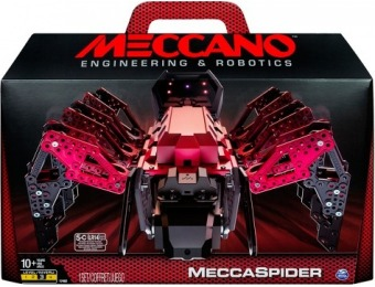 68% off Meccano MeccaSpider Robot Kit with Interactive Games