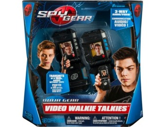 58% off Spy Gear Video Walkie Talkies with 2-Way Audio and Video
