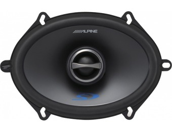 "60% off Alpine 5"" x 7"" 2-Way Coaxial Car Speakers (Pair)"