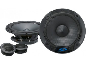 "60% off Alpine 6-1/2"" 2-Way Component Car Speakers (Pair)"