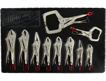 42% off Milwaukee Torque Lock Locking Pliers Kit (10-Piece)