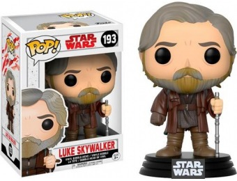 40% off Funko Pop! Star Wars Last Jedi Luke Skywalker