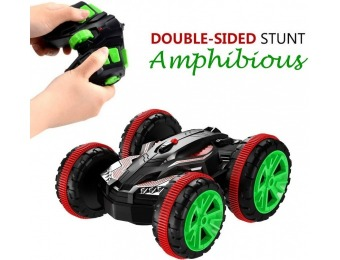 40% off RC Amphibious Off Road Double Sided Stunt Car