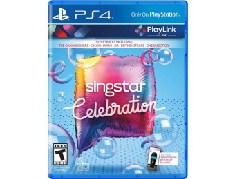 50% off SingStar Celebration - PlayStation 4
