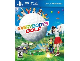 50% off Everybody's Golf - PlayStation 4