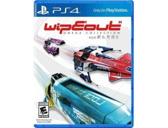 50% off WipEout Omega Collection - PlayStation 4