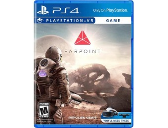 60% off Farpoint - PlayStation 4