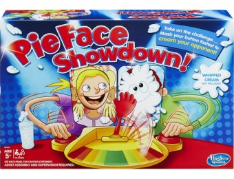 60% off Hasbro Pie Face Showdown Game