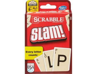 50% off Hasbro Scrabble Slam Card Game