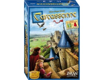 43% off Z-man Games - Carcassonne Board Game