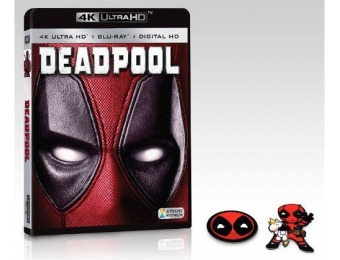 $5 off Deadpool (4K Ultra HD Blu-ray/Blu-ray)
