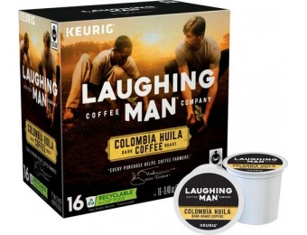 33% off Keurig Laughing Man Columbia Huila K-Cup Pods (16-Pack)