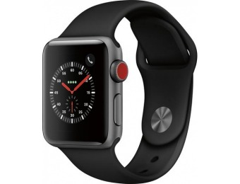 $134 off Apple Watch Series 3 (GPS + Cellular) Refurbished