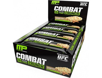 68% off MusclePharm Combat Crunch Cinnamon Twist (12 Pack)