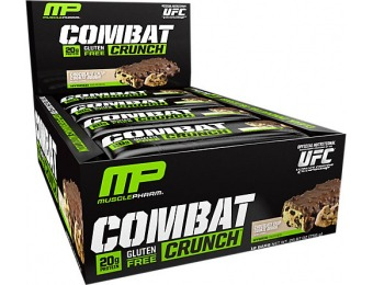 68% off MusclePharm Combat Crunch (12 Pack)