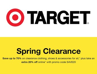 Extra 20% off Target Clearance