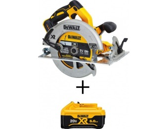 $146 off DEWALT 20V MAX XR Lithium-Ion Brushless Circular Saw