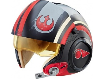 54% off Star Wars Black Series Poe Electronic X-Wing Pilot Helmet