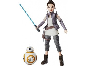 64% off Star Wars Rey of Jakku and BB-8 Adventure Set