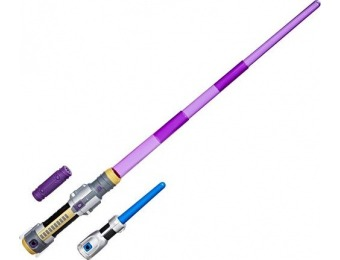 40% off Star Wars Forces of Destiny Jedi Power Lightsaber
