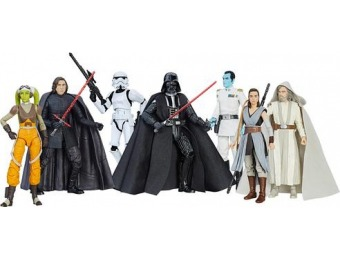 "40% off Star Wars Black Series 6"" Action Figure"