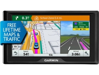 "$90 off Garmin Drive 60LMT 6"" GPS with Lifetime Maps and Traffic"