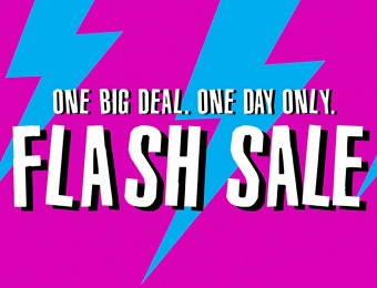 Flash Sale: 30% off Almost Everything Including Clearance