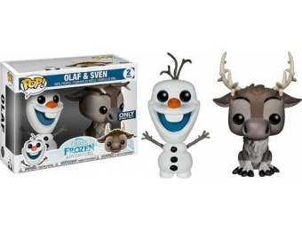 50% off Funko POP Disney: Frozen 2PK Olaf and Sven