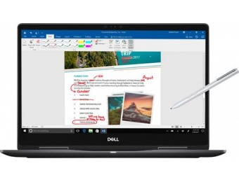 "$250 off Dell 2-in-1 15.6"" 4K Ultra HD Touch-Screen Laptop"