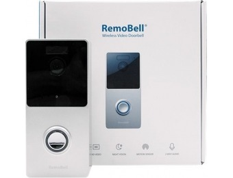 $96 off remo+ Wireless Smart Video Doorbell
